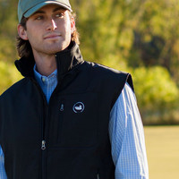 FieldTec Softshell Vest in Black by Southern Marsh