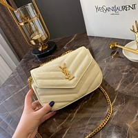 Saint Laurent YSL Leather mini bag