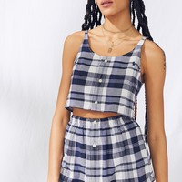 Urban Renewal Recycled Shirt + Skirt 2-Piece Set | Urban Outfitters