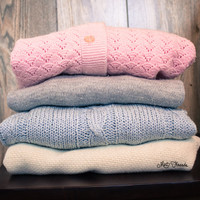 Mystery Oversized Vintage Solid Sweaters