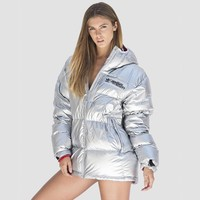 Adidas JEREMY SCOTT Metal Down Jackets