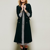 Free People Sergeant At Arms Maxi Coat