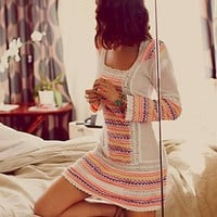 Free People Neon Lights Cover Up