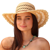 Palms & Sand St. Barts Womens Sun Hat - Ladies Beach Hat