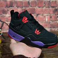 "Air Jordan 4 ""Raptors"" Kid Shoes - Best Deal Online"