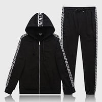 Boys & Men Dolce&Gabbana Cardigan Jacket Coat Pants Trousers Set Two-Piece