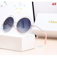 Chloe Fashion New Polarized Women Men Sun Protection Glasses Eyeglasses 4#