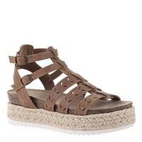 MADELINE GIRL - KINDRED in BROWNSTONE Wedge Sandals