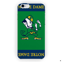 Notre Dame Fighting Irish Football Basketball For iPhone 6 / 6 Plus Case