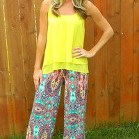 Talk of the Town Palazzo Pants
