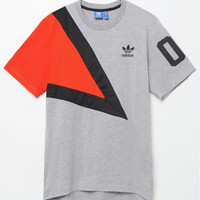 adidas Colorblock Drop Tail T-Shirt at PacSun.com