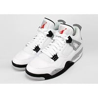 "AIR JORDAN 4 RETRO ""WHITE CEMENT 89"""