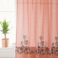 Beachy Floral Shower Curtain | Urban Outfitters