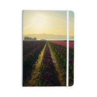 "Robin Dickinson ""Here Comes The Sun"" Flower Landscape Everything Notebook"