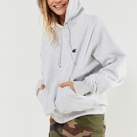 Champion Reverse Weave Logo Hoodie Sweatshirt | Urban Outfitters Canada