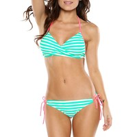 GUAVA STRIPED ALICIA TOP BY SURF STYLE