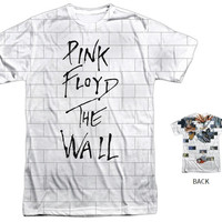 """Pink Floyd """"The Wall"""" Tee - Multiple Styles & Sizes"""