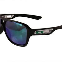OAKLEY SUNGLASSES DISPATCH 2 BLACK FRAME JADE IRIDIUM LENSES 009150-05 NEW