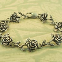 Rose Bracelet - 7 links