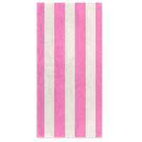 Stripes of Capri Beach Towel - Pink