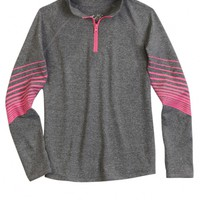 ATHLETIC HALF-ZIP PULLOVER   GIRLS FASHION TOPS TOPS   SHOP JUSTICE