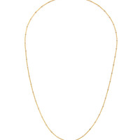 14K ROSE Gold Dipped Sterling Mixed Metal Beaded Necklace