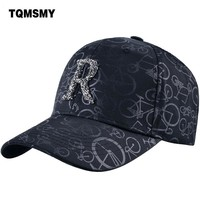 Trendy Winter Jacket TQMSMY High Quality Letter Men's Baseball Hats Caps Women Adjustable Women's Baseball Cap Printing Dad Hat Snapback Cap TMBS106 AT_92_12