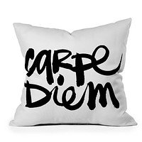 Kal Barteski Carpe Diem Throw Pillow