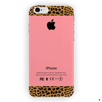 Apple Pink And Leopard Print For iPhone 6 / 6 Plus Case