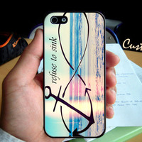 Anchor Infinity I refuse To Sink   Photo Hard Case by GreatCustom