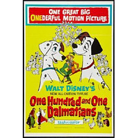 101 Dalmatians Movie Poster 24in x 36in