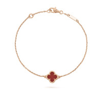 Four-leaf Clover Single Flower Bracelet Bangles