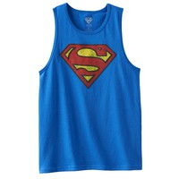 Superman Distressed Logo Tank - Boys 8-20, Size: