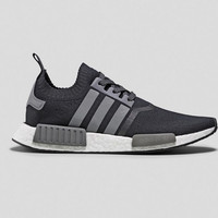 Adidas originals Men NMD R1 Runner Primeknit Black/White/Reflective Silver