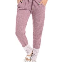 Plum Day Off Jogger Pants | $9.99 | Cheap Trendy Pants Chic Discount Fashion for Women | ModDeals.co