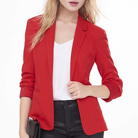 24 Inch Textured Knit Blazer from EXPRESS