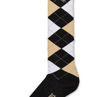 Purdue Boilermakers Women's Knee High Argyle Socks