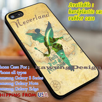 Faith Trust Tinkerbell Quote iPhone 6s 6 6s+ 6plus Cases Samsung Galaxy s5 s6 Edge+ NOTE 5 4 3 #cartoon #disney #animated #tinkerbell #comic dl3