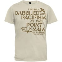 Big Lebowski - Dabbled In Pacifism T-Shirt