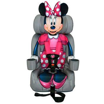 KidsEmbrace 2-in-1 Harness Booster Car Seat, Disney Minnie Mouse