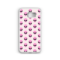 Phone Case Pastel Alien Pattern for Samsung Galaxy S4, S5, S6, S6 EDGE, S6 EDGE Plus, S7 and S7 EDGE