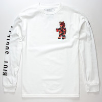 RIOT SOCIETY Floral Bear Mens T-Shirt | L/S + Baseball Tees