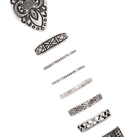 Etched Ring Set | Forever 21 - 1000177766