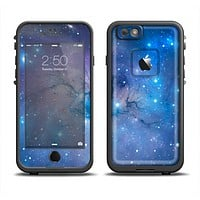 The Blue & Purple Mixed Universe Apple iPhone 6 LifeProof Fre Case Skin Set