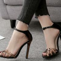 Female hot style hot sell sexy baotou high heel shoes