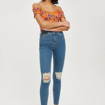 MOTO Authentic Ripped Jamie Jeans | Topshop