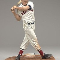 McFarlane Toys MLB Sports Picks Cooperstown Series 4 Action Figure Ted Williams (Boston Red Sox) White Uniform