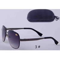 LACOSTE New fashion men sunglasses women fashion glasses