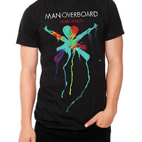 Man Overboard Heart Attack Slim-Fit T-Shirt | Hot Topic