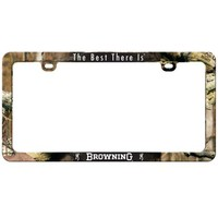 Browning License Plate Frame | Infinity Camo